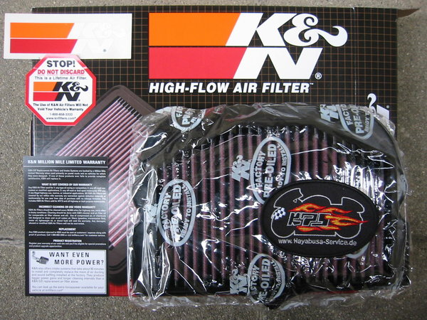 K+N Airfilter for Busa 08 up